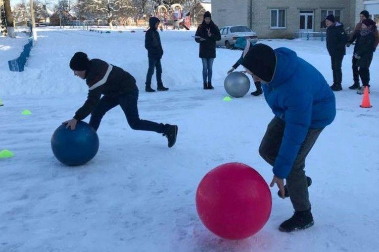Спортивне свято для дітей з вадами зору у Луцькому районі