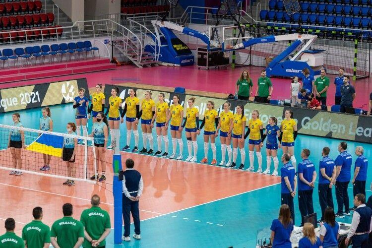 Українські волейболістки двічі спарингувалися з болгарками