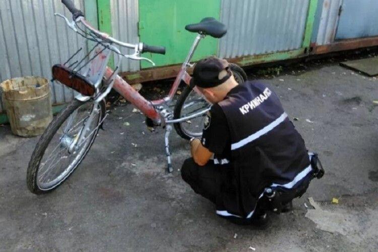 Горохівськіполіцейськіоперативно встановили злодія велосипеда