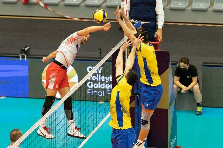 Волейбол: українці дали бій туркам у фіналі Золотої Євроліги