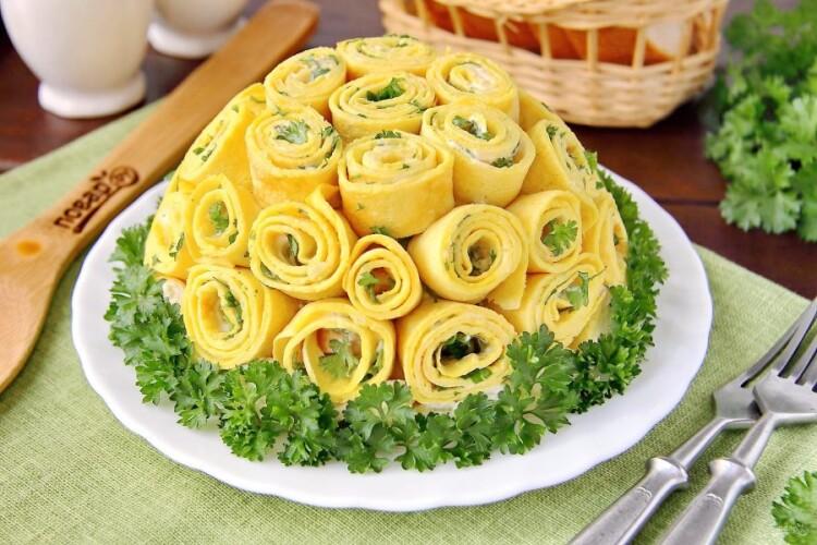 Рецепт святкового салату «Шарлотка» від «Волині»