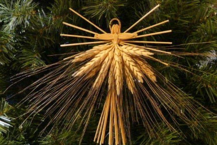 Волинські майстрині представляють ялинкові прикраси з природніх матеріалів