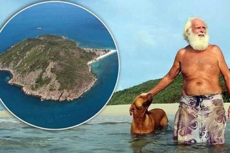 Англієць прожив насвоєму острові 50років івідмовився продати його навіть за50мільйонів доларів