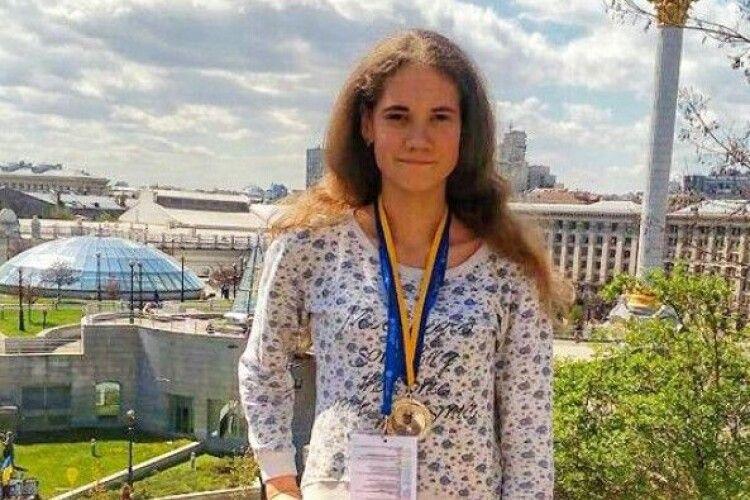 Старовижічанка стала другою в Україні на конкурсі наукових робіт