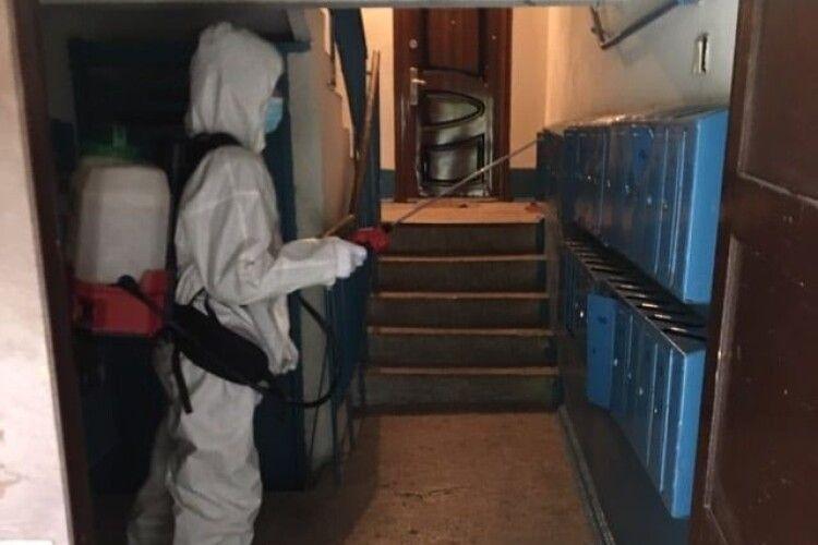 Луцькі рятувальники за минулу добу дезінфікували 33 об'єкти