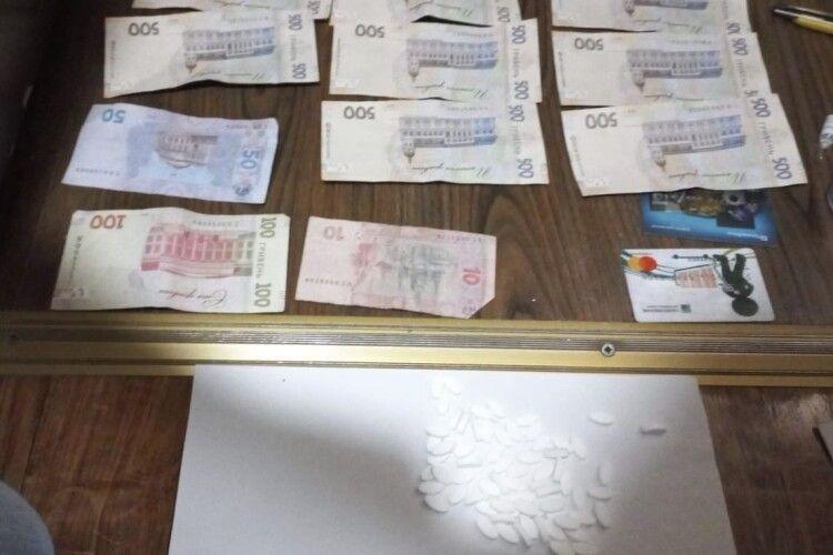 У волинянина вилучили наркотики на суму понад 50 тисяч гривень (Фото)
