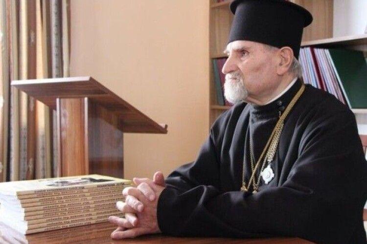 Помер 88-річний священник волинської єпархії, який був настоятелем собору в Луцьку