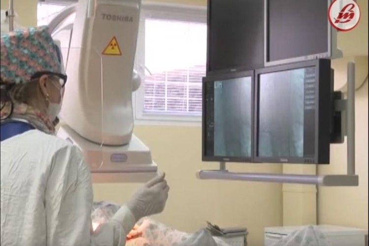 У Луцьку зробили першу операцію зупинки шлункової кровотечі методом емболізації (Відео)