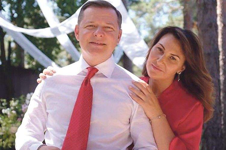 Дівчата, жіночки, бабусі  і чоловіки, плачте:  Олег Ляшко одружився з жінкою!