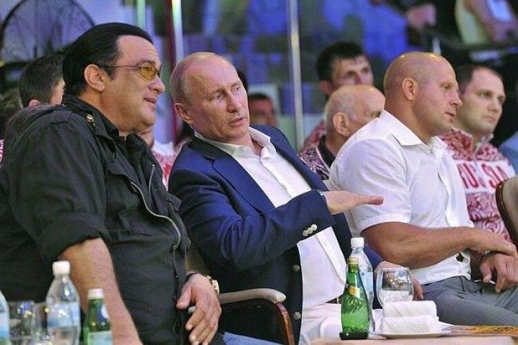 Актор Стівен Сігал вступив до провладної російської партії