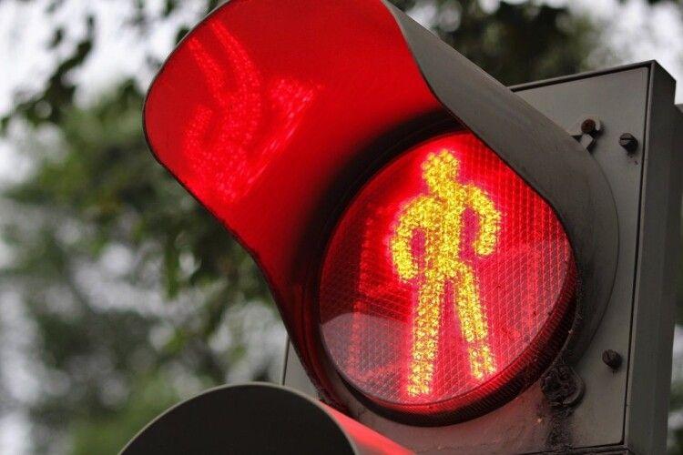 У Луцьку на проспекті Соборності відключать світлофори