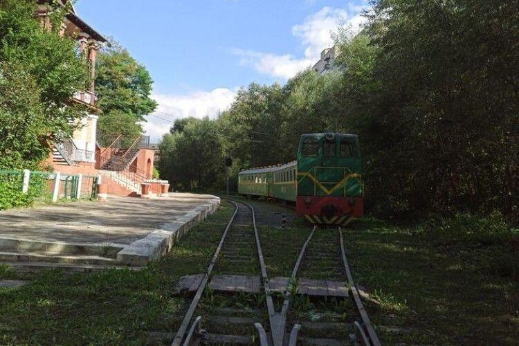 У Луцьку хочуть закрити дитячу залізницю