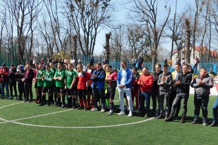 На Волині востаннє нагородили чемпіонів Горохівського району з футболу (Фото)