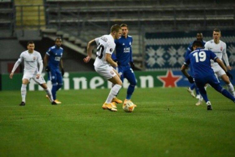 «Зоря» обіграла одного з лідерів англійської Прем'єр-ліги, але вилетіла з Ліги Європи