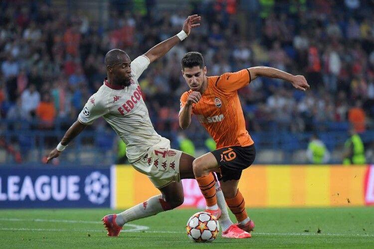 «Шахтар», програючи 0:2 «Монако», зумів відіграти два м'ячі