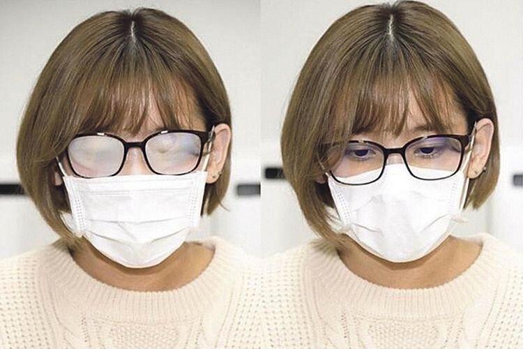 Люди не хочуть носити маску,  бо в ній запотівають окуляри: є два способи, як уникнути цього