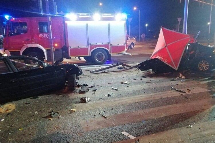 У Польщі в ДТП загинули троє молодих українців