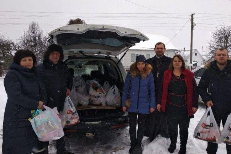 У Шацькому районі до Різдва влаштували благодійну акцію