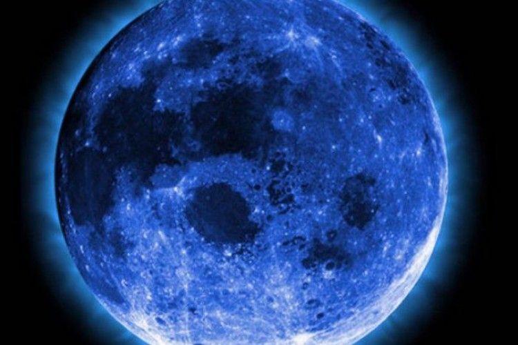 31 січня зійде «блакитний місяць»