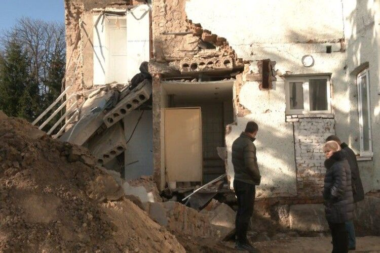 Ремонт в інтернаті на Горохівщині, де обвалилася стіна, мають завершити до січня (Відео)