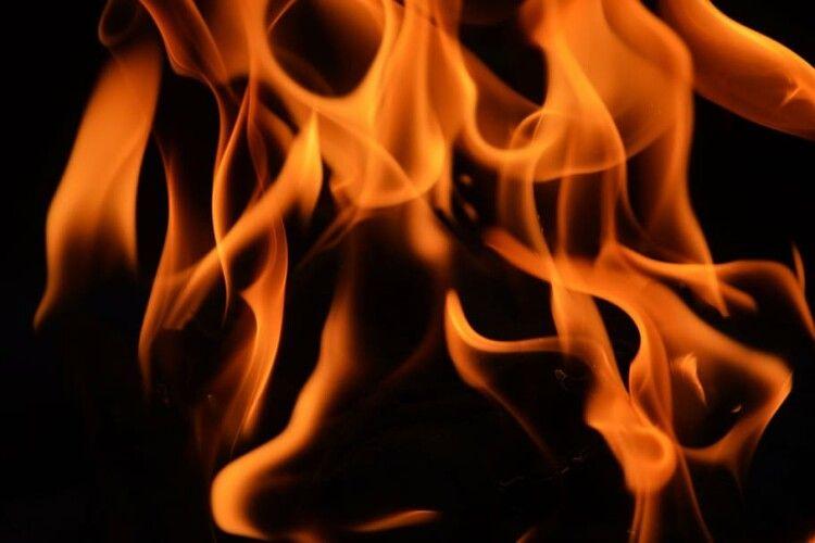 У вогні загинуло двоє волинян