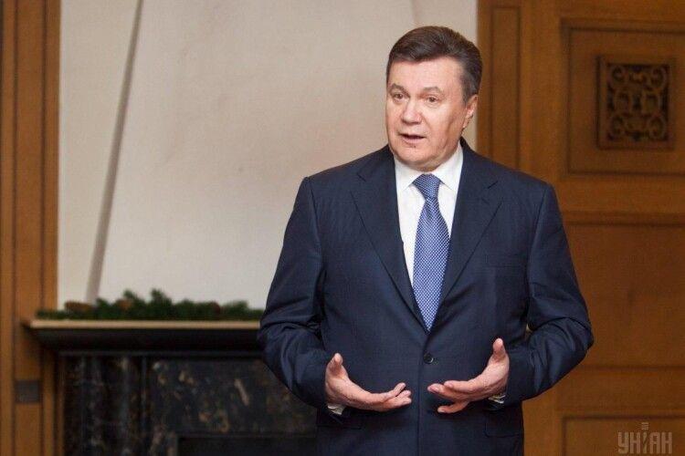 Віктора Януковича взяли під варту