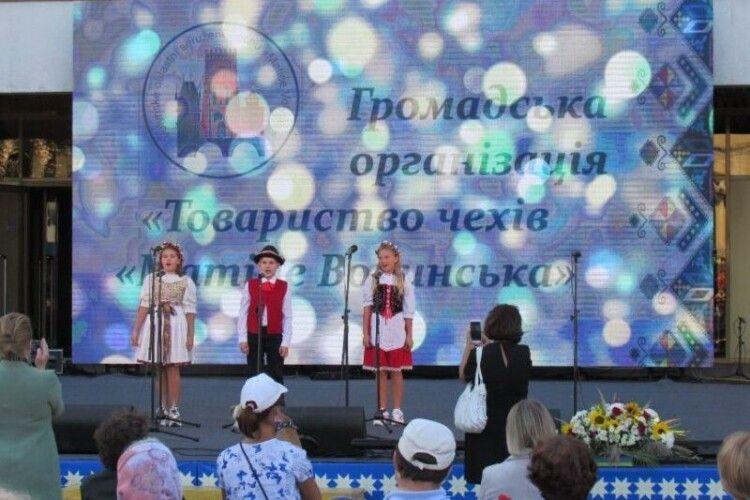 Національні товариства, що діють у Луцьку, презентували своє мистецтво