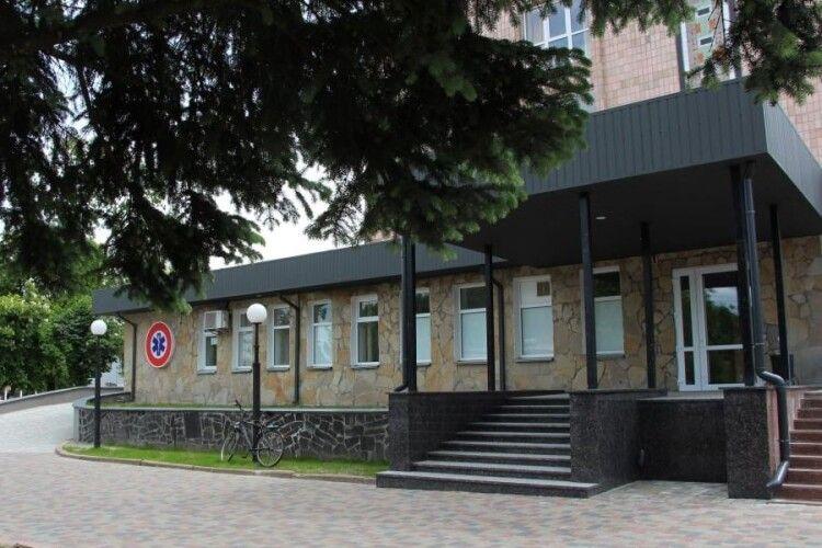 У Ковелі ремонтують приймальне відділення лікарні