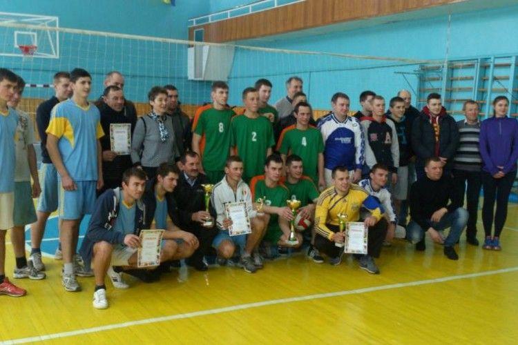 У Ківерцях  змагалися волейболісти