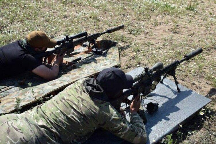 На Рівненському полігоні змагалися снайпери (Відео)