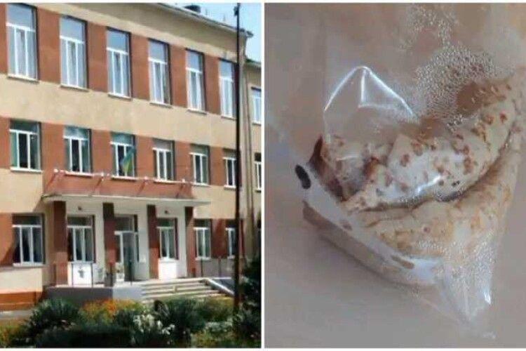 В ужгородській школі дітям на сніданок видали млинці у файлах (Відео)