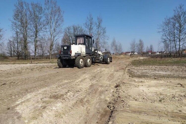 На Любешівщині впорядковують дороги