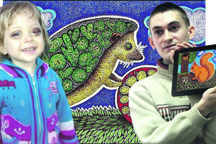 Студент виготовляє свої міні-листівки звіршами, щоб урятувати чужу дитину