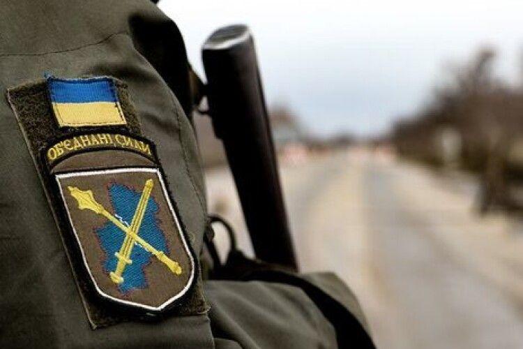 Протягом доби бойовики на Донбасі порушили перемир'я вісім разів, поранено українських воїнів