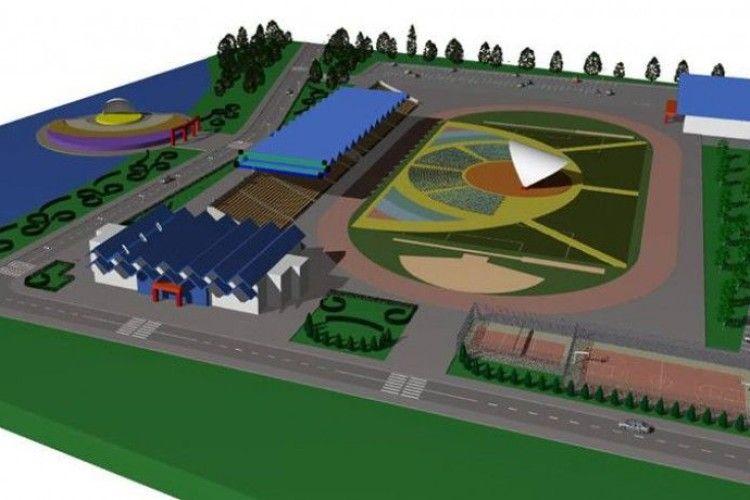 На будівництво стадіону у Ковелі треба 88 мільйонів гривень
