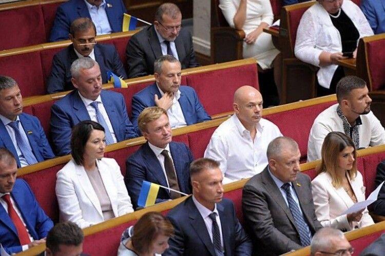 16 тисяч правок до «антиколомойського закону»: волинські депутати у «рекорді» участі не брали