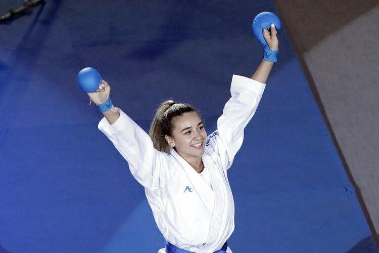 Каратистка Анжеліка Терлюга визнана найкращою спортсменкою України за підсумками січня