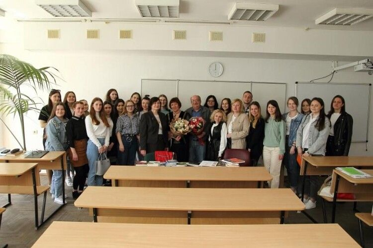 Відомі волинські письменники завітали в СНУ імені Лесі Українки