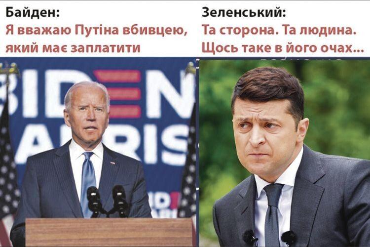 «Хто якпрозивається, той сам так називається»: Путін увідповідь нате,що він— убивця