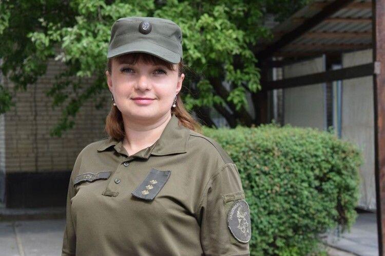 Гвардійський медик з Луцька Марія Миронюк розповіла про участь в ООС