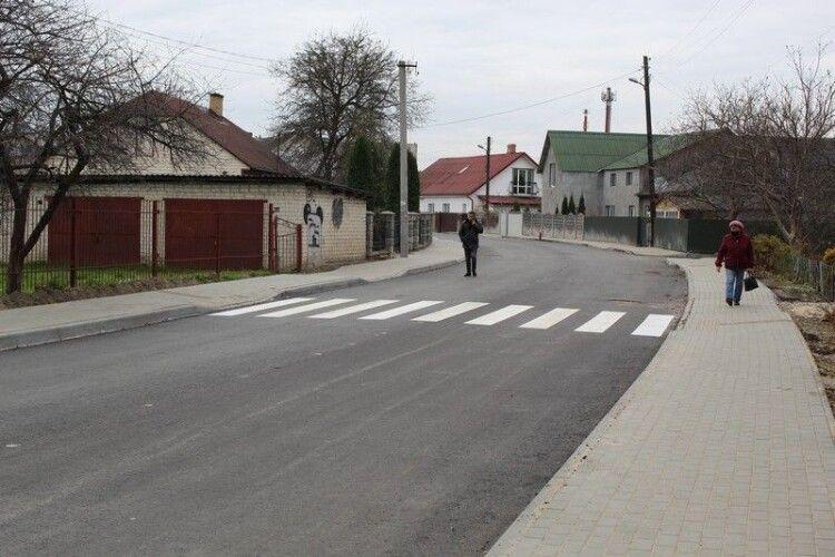 У Ковелі завершують капітальний ремонт двох вулиць