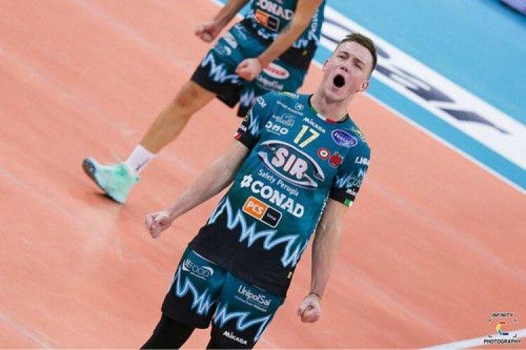Волейбол: український капітан хрестив сина (Фото)