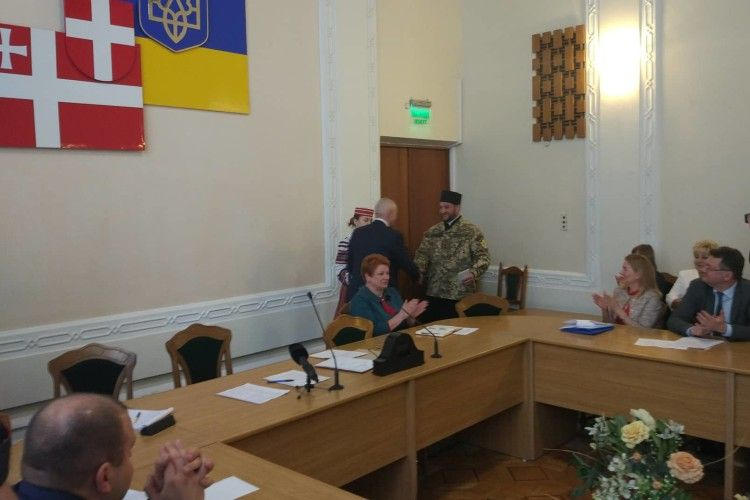 Волинського капелана відзначили президентською нагородою