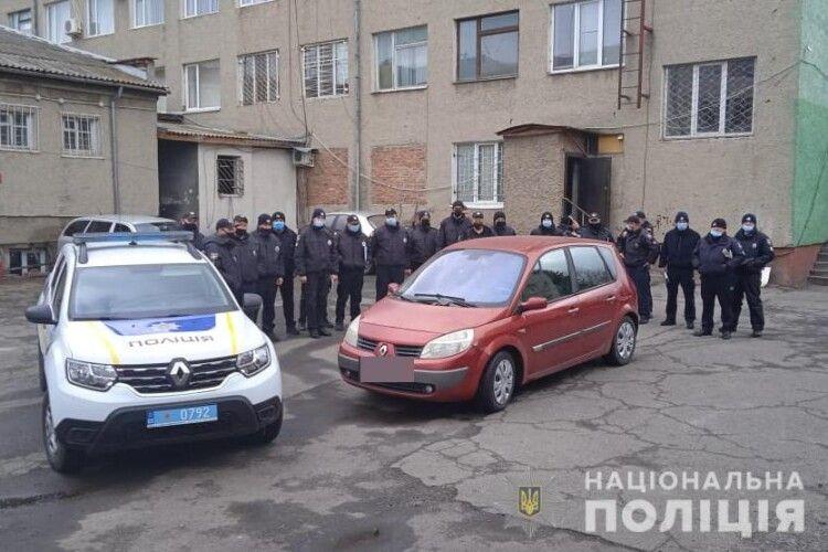 У Луцьку поліцейські «пригальмували» автомобіль