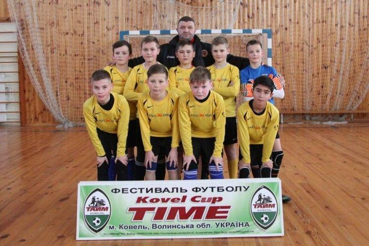 У Ковелі відбувся зимовий фестиваль футболу «Kovel Cup Time»