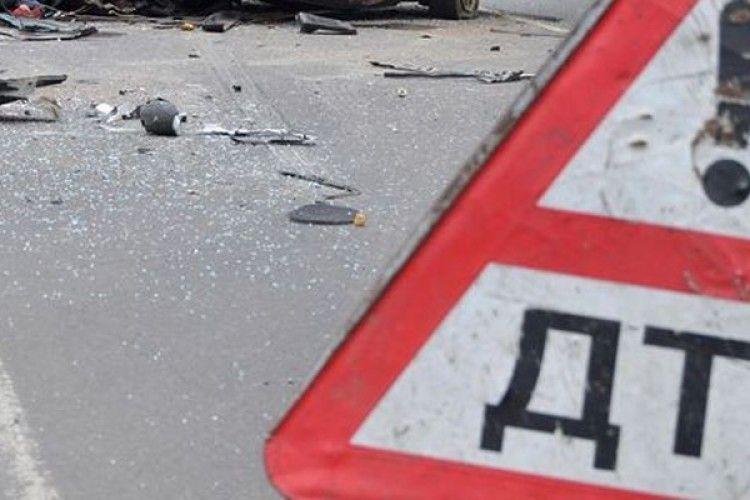 В аварії під Луцьком загинуло двоє людей