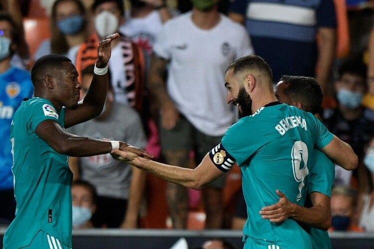 «Реал» здобув вольову перемогу над «Валенсією»