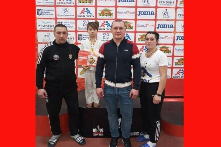 Шацькі дзюдоїстки перемогли на турнірі у Києві