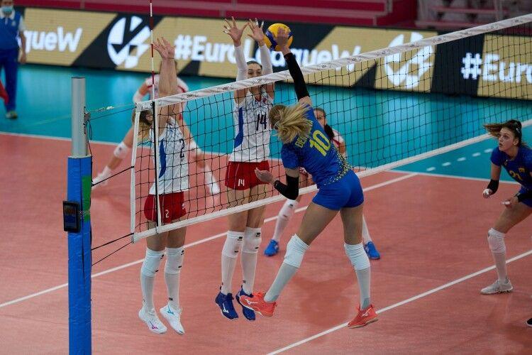 Українські волейболістки перемогли на старті Золотої Євроліги