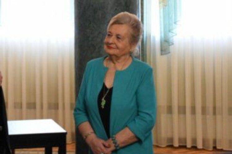 Звання «Почесний громадянин міста Луцька» вперше отримала жінка